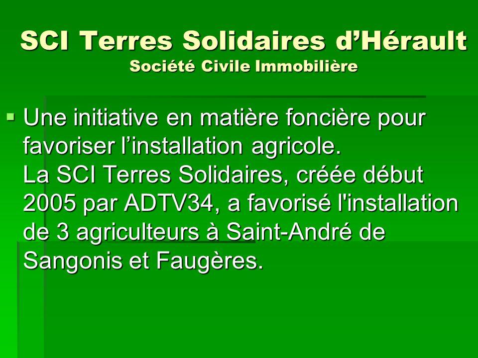 SCI Terres Solidaires d'Hérault Société Civile Immobilière