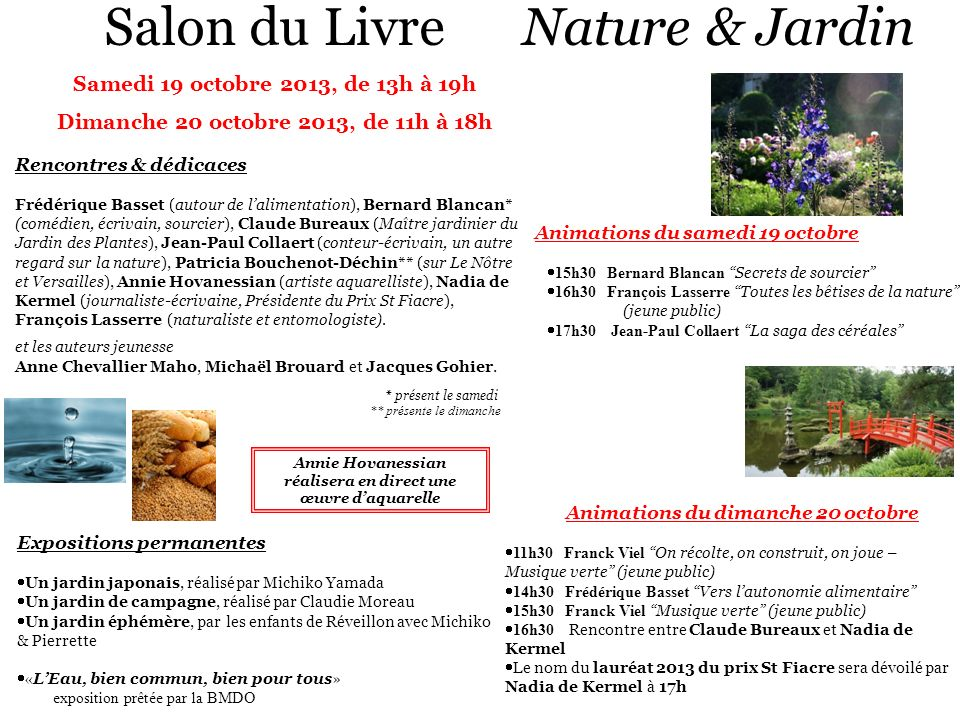 Salon du Livre Nature & Jardin