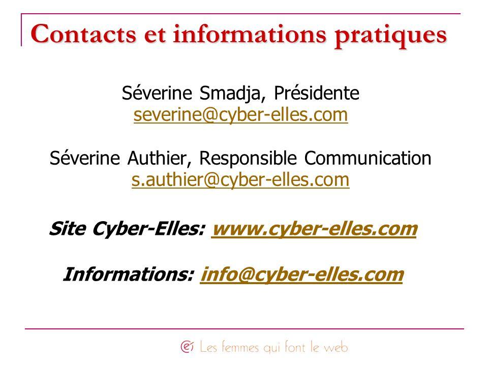 Contacts et informations pratiques