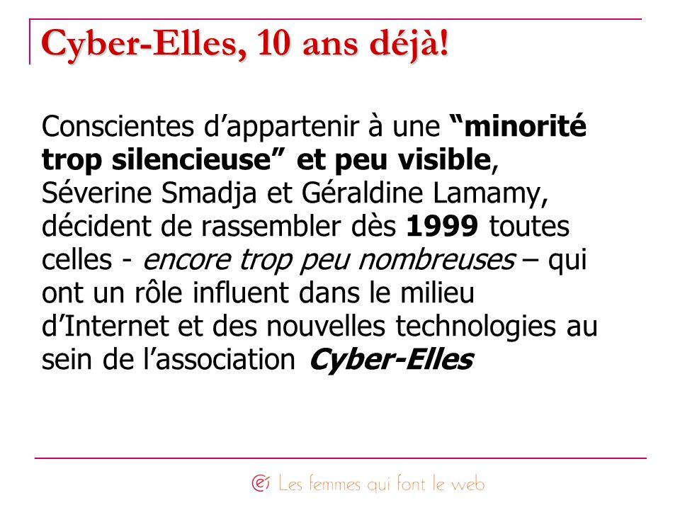 Cyber-Elles, 10 ans déjà! Conscientes d'appartenir à une minorité
