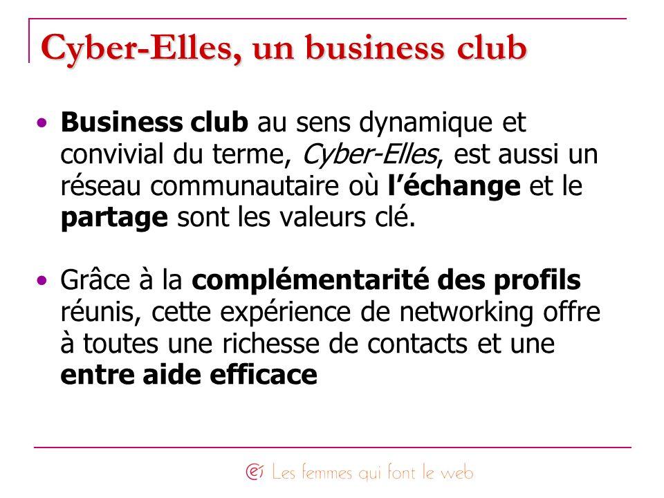 Cyber-Elles, un business club