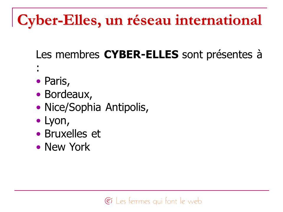 Cyber-Elles, un réseau international