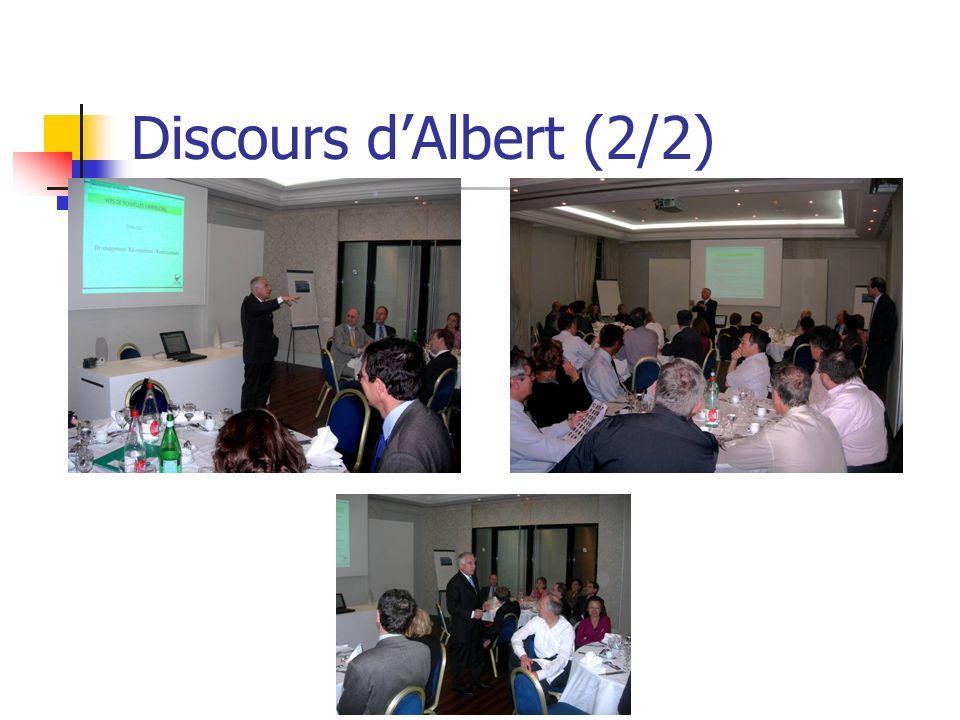 Discours d'Albert (2/2)