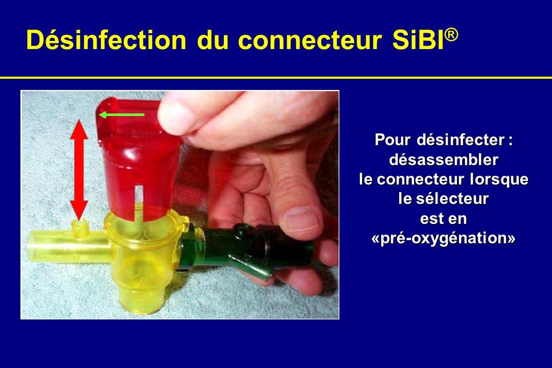 Désinfection du connecteur SiBI®