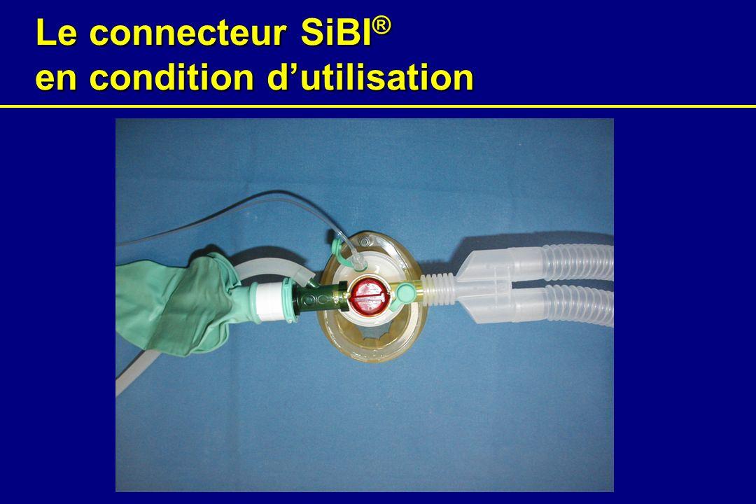 Le connecteur SiBI® en condition d'utilisation