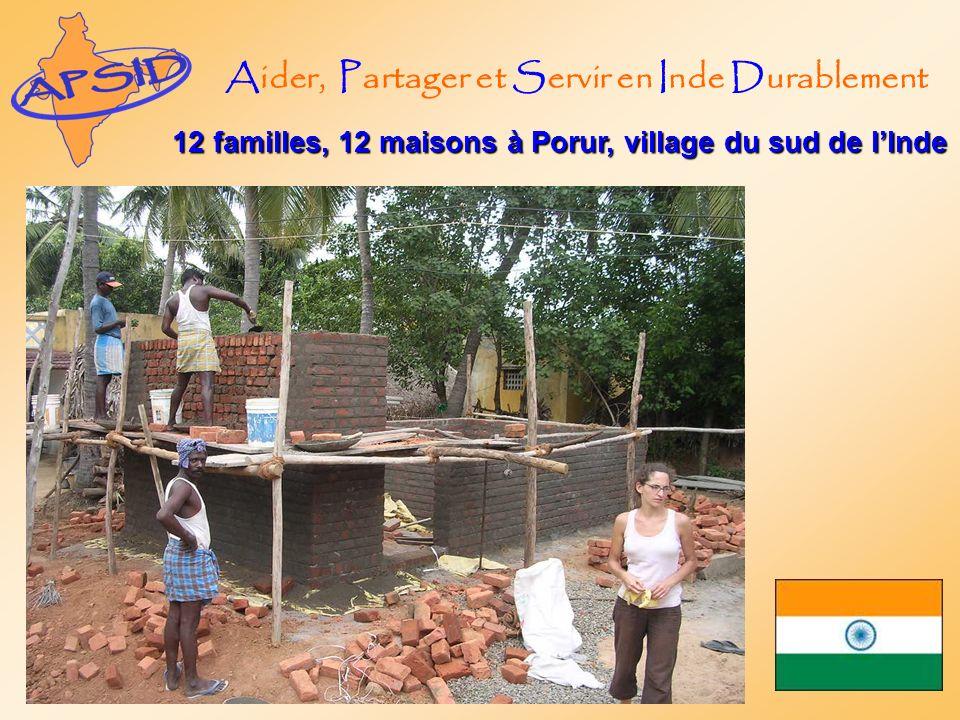 Aider, Partager et Servir en Inde Durablement