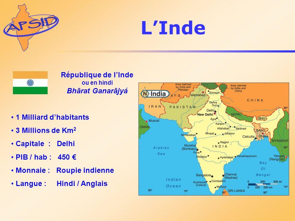 République de l'Inde ou en hindi Bhārat Ganarājyá