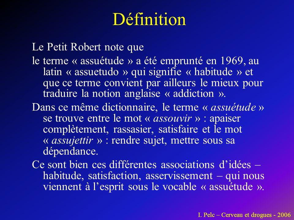 Définition Le Petit Robert note que
