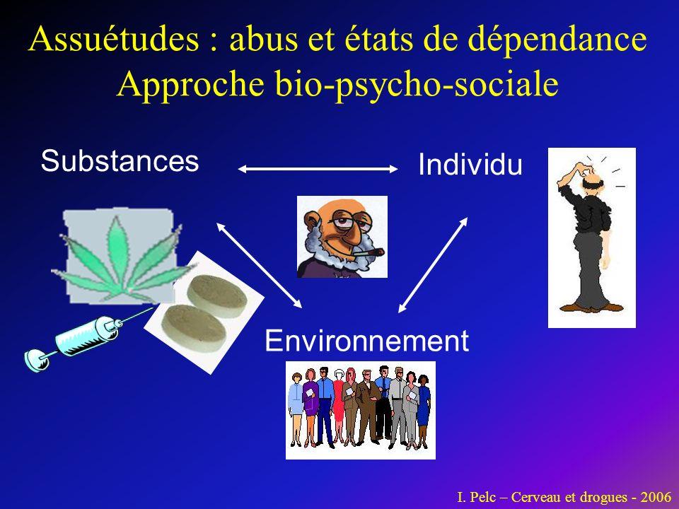 Assuétudes : abus et états de dépendance Approche bio-psycho-sociale