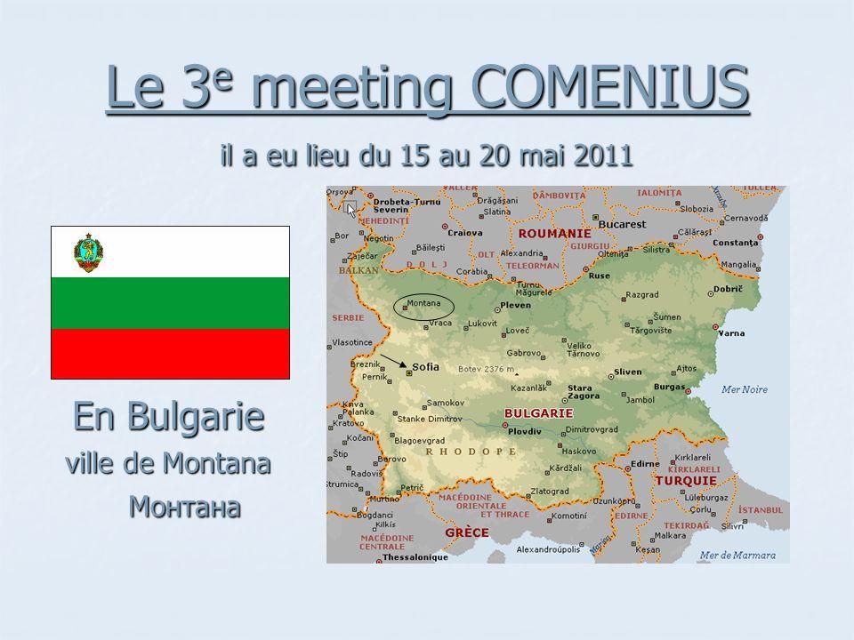 Le 3e meeting COMENIUS il a eu lieu du 15 au 20 mai 2011