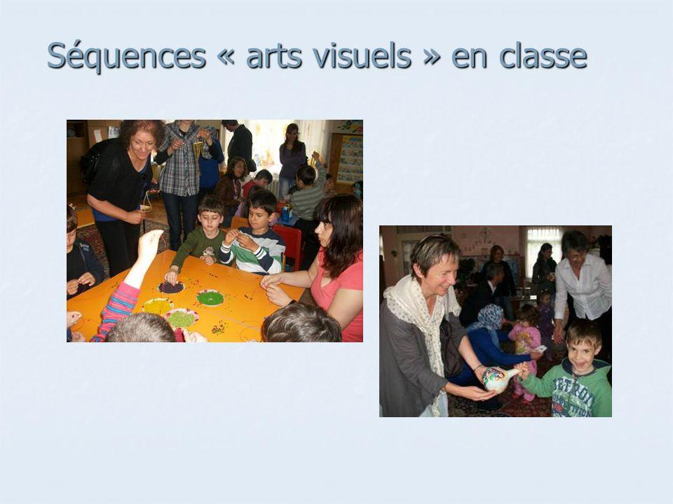 Séquences « arts visuels » en classe