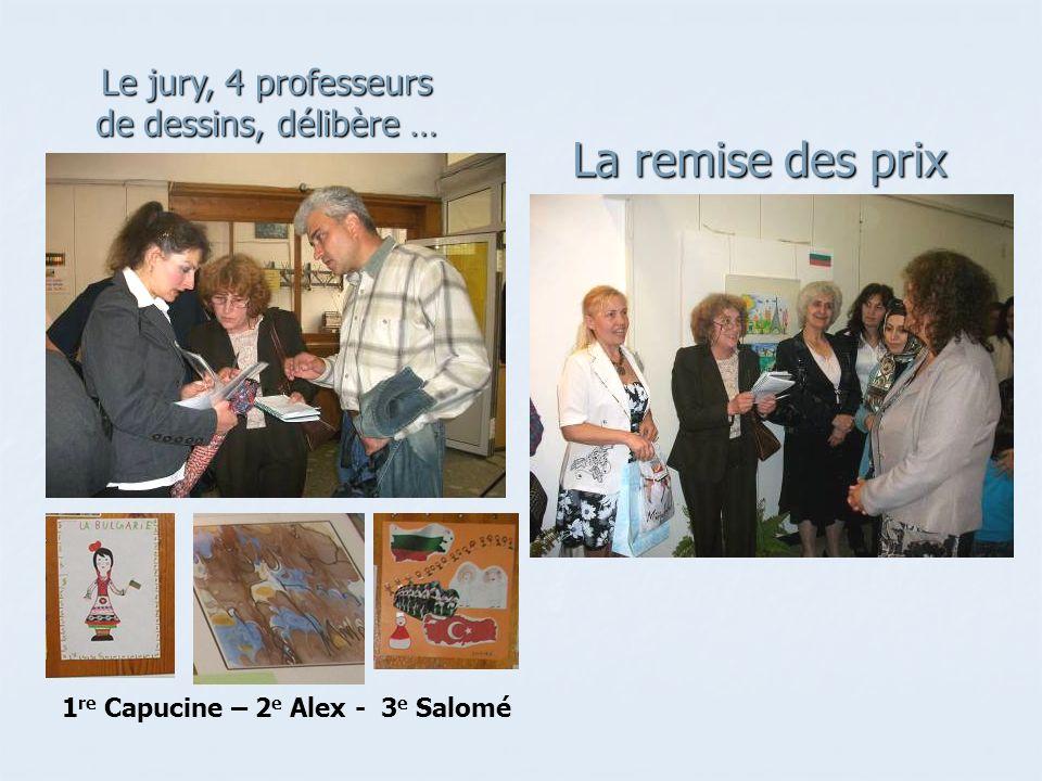 1re Capucine – 2e Alex - 3e Salomé