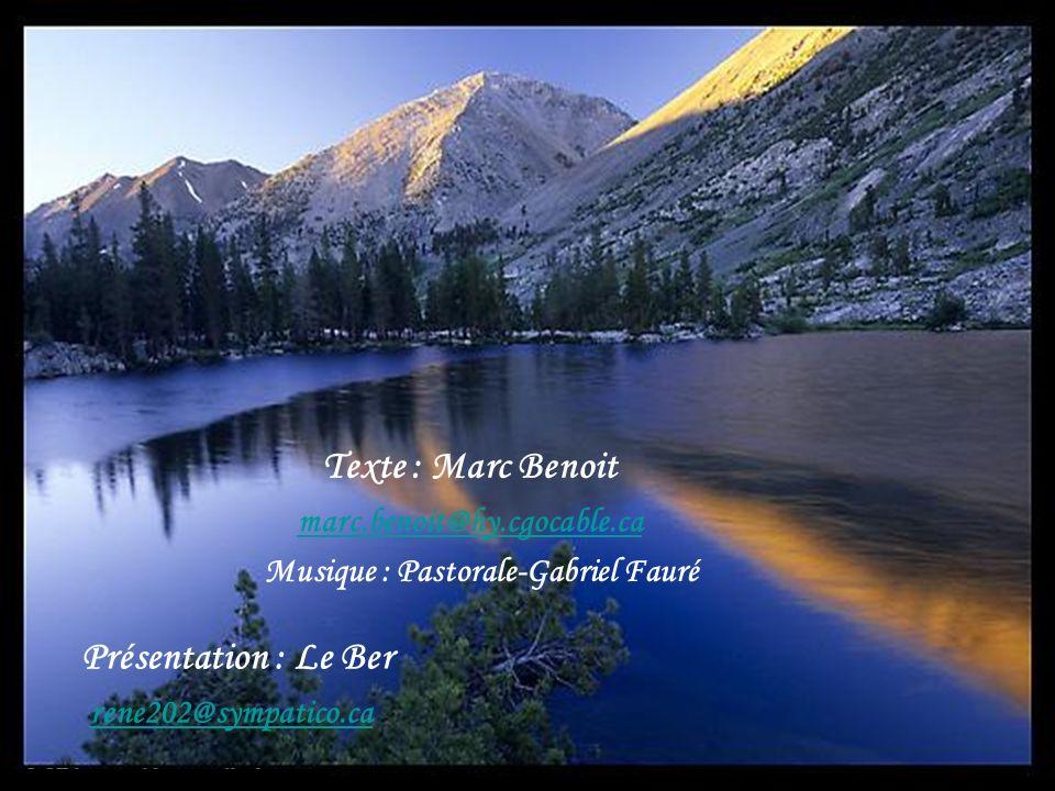 Texte : Marc Benoit Présentation : Le Ber marc.benoit@hy.cgocable.ca