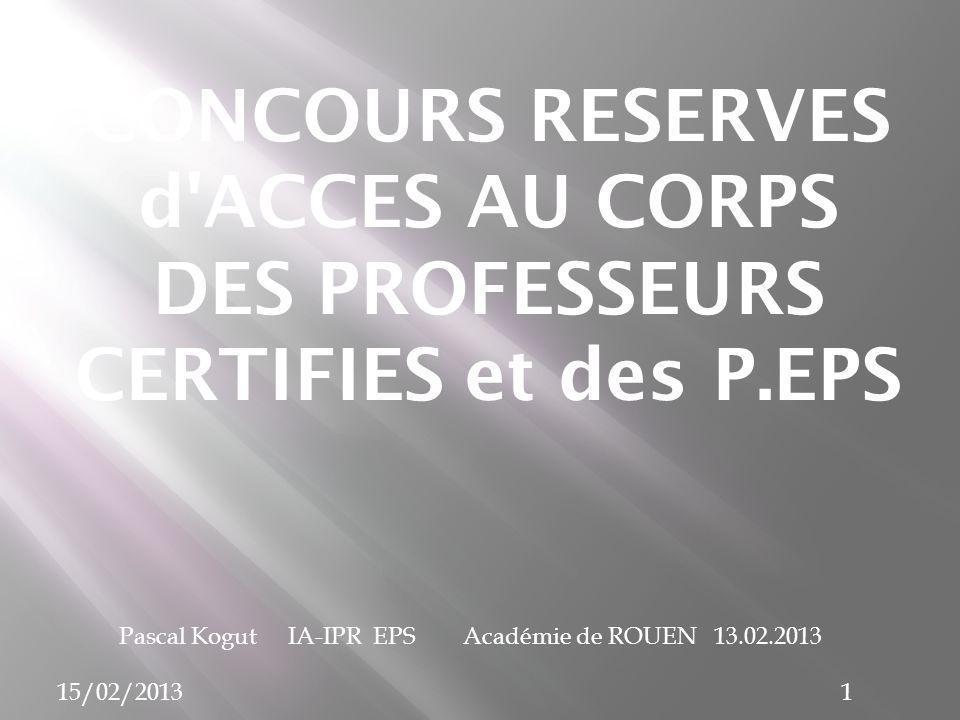 Pascal Kogut IA-IPR EPS Academie de Rouen