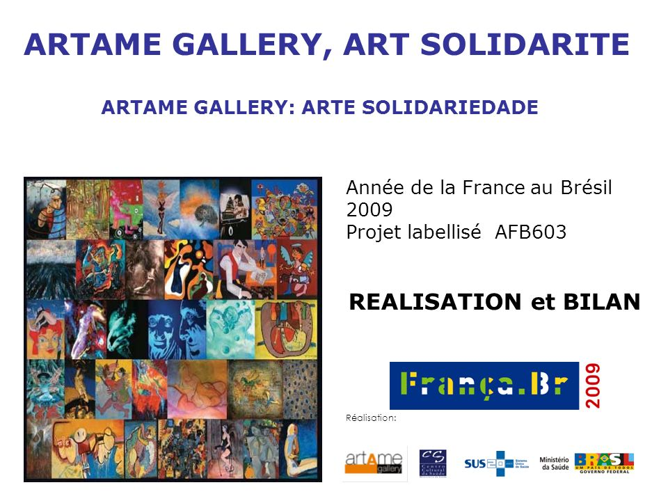 ARTAME GALLERY, ART SOLIDARITE