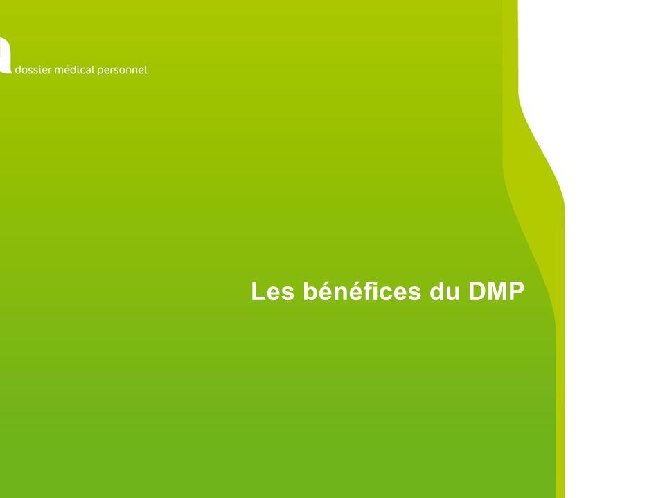 Les bénéfices du DMP