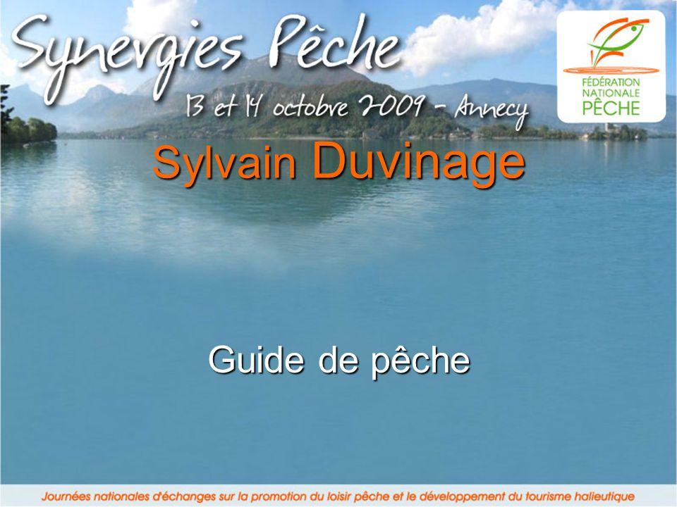 Sylvain Duvinage Guide de pêche