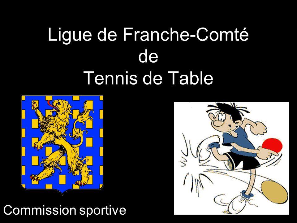 Ligue de Franche-Comté de Tennis de Table