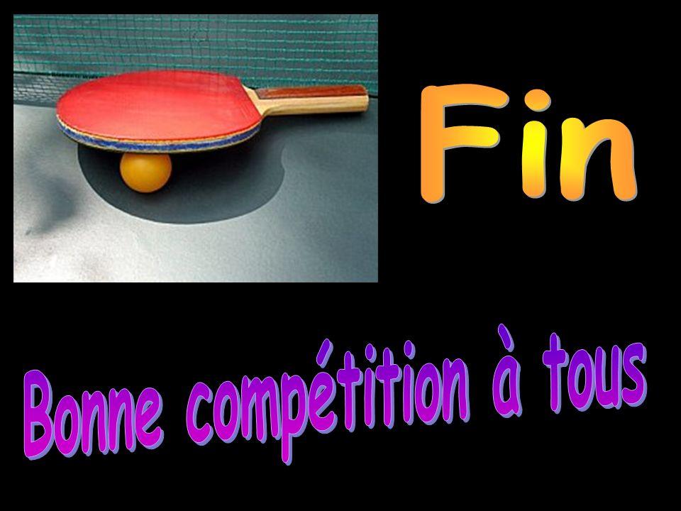 Bonne compétition à tous