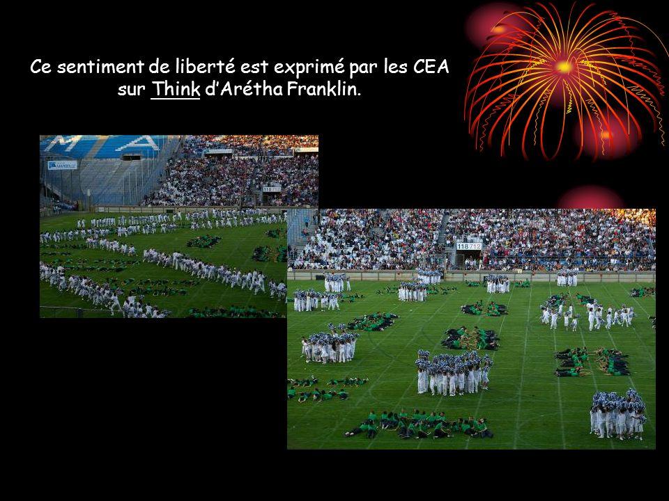 Ce sentiment de liberté est exprimé par les CEA sur Think d'Arétha Franklin.