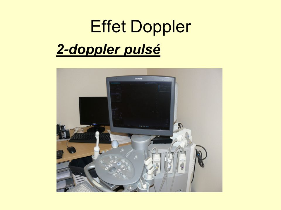 Effet Doppler 2-doppler pulsé