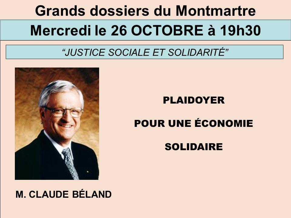 Grands dossiers du Montmartre