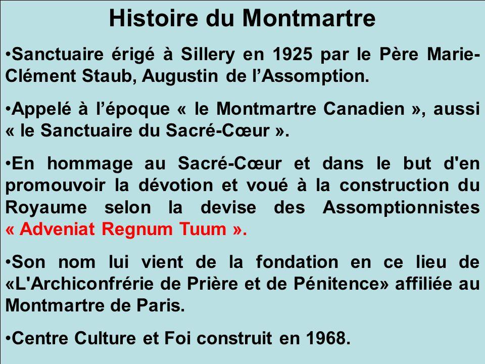 Histoire du Montmartre