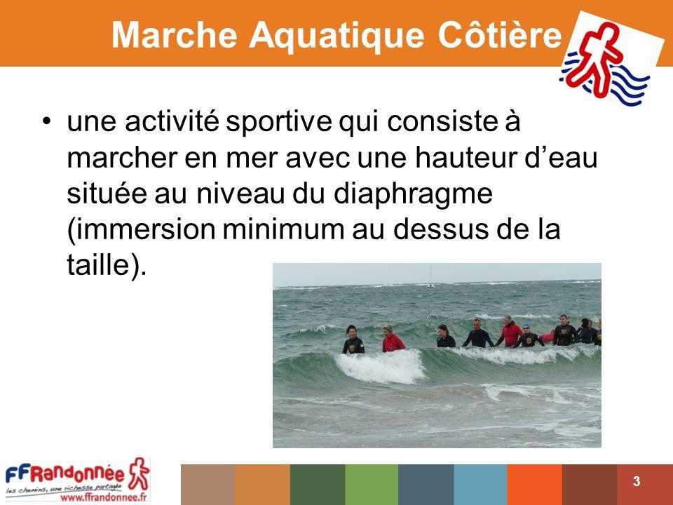 Marche Aquatique Côtière
