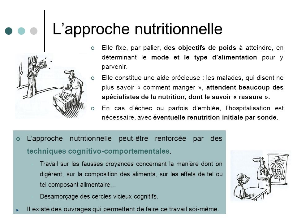 L'approche nutritionnelle