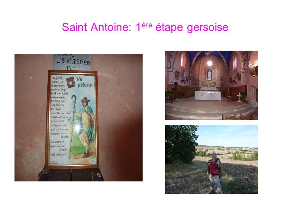 Saint Antoine: 1ère étape gersoise