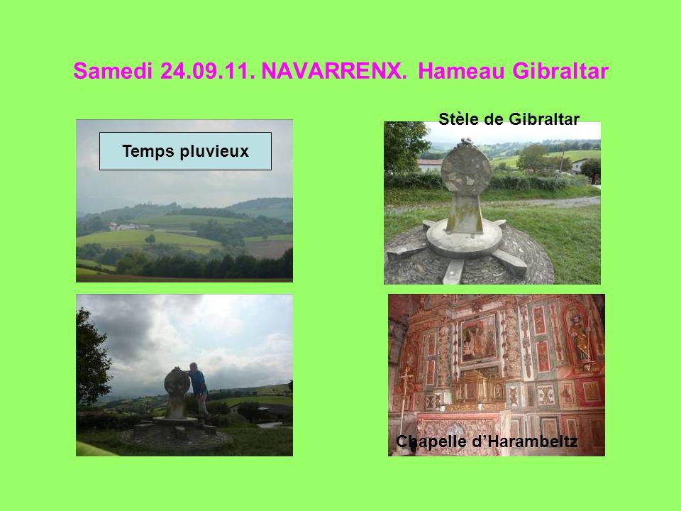 Samedi 24.09.11. NAVARRENX. Hameau Gibraltar