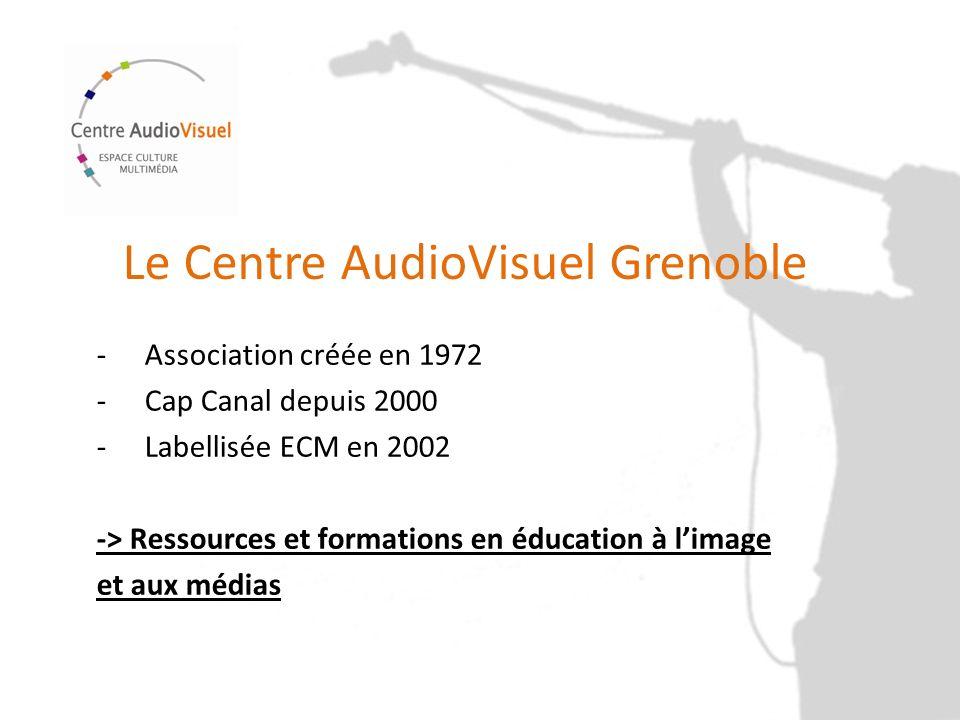 Le Centre AudioVisuel Grenoble