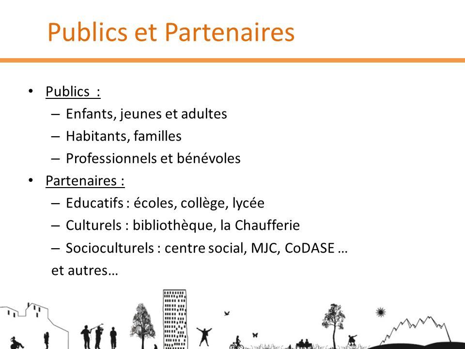 Publics et Partenaires