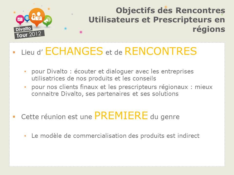 Objectifs des Rencontres Utilisateurs et Prescripteurs en régions