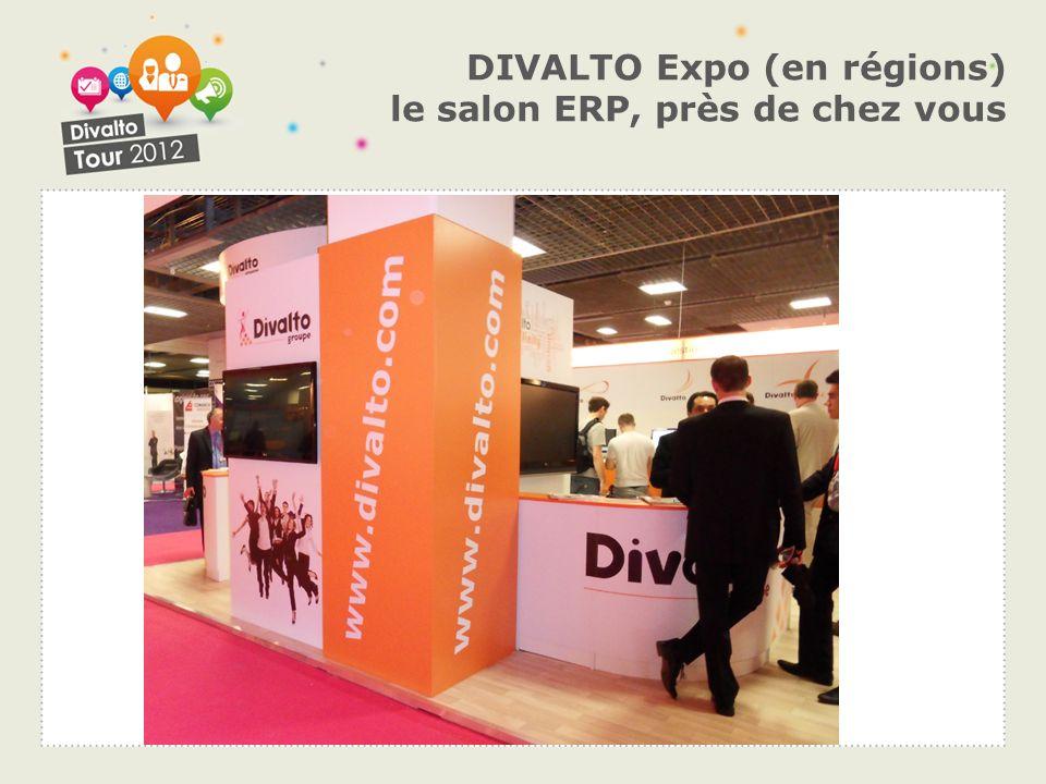 DIVALTO Expo (en régions) le salon ERP, près de chez vous