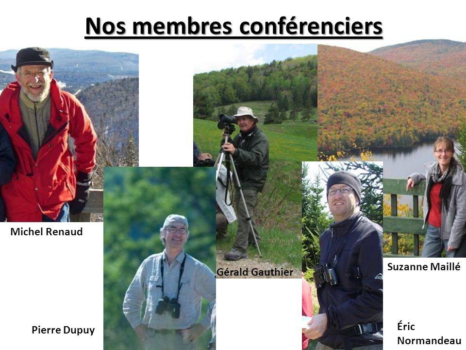Nos membres conférenciers