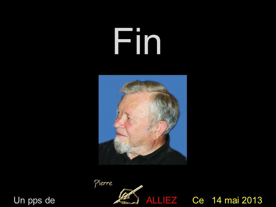 Fin Un pps de ALLIEZ Ce 14 mai 2013