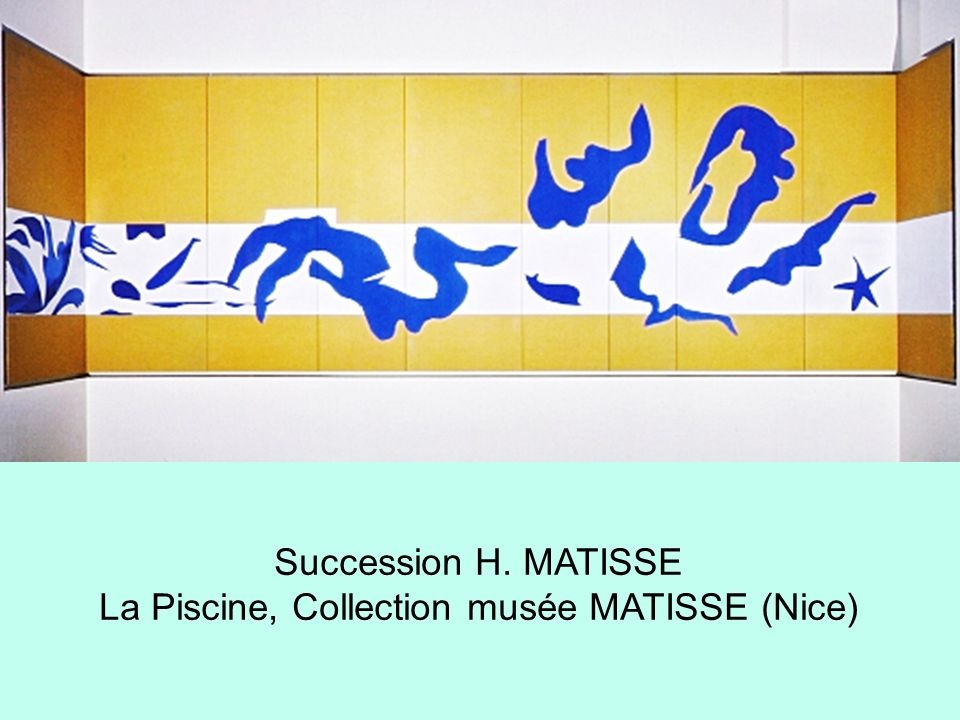La Piscine, Collection musée MATISSE (Nice)