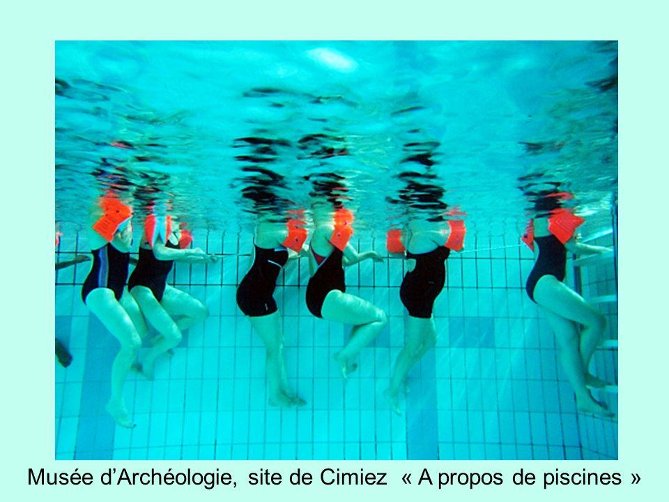 Musée d'Archéologie, site de Cimiez « A propos de piscines »
