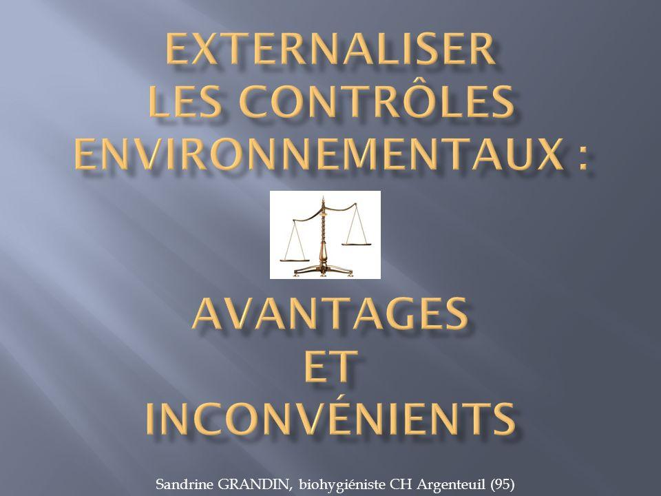 Sandrine GRANDIN, biohygiéniste CH Argenteuil (95)