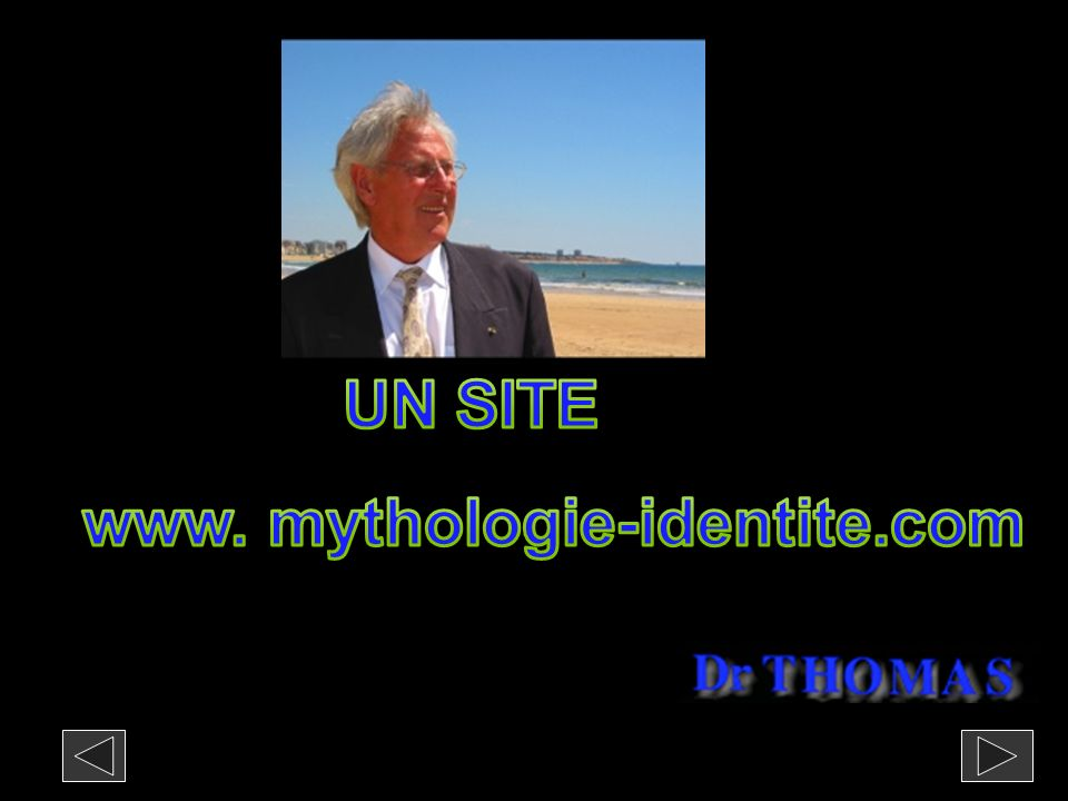 UN SITE www. mythologie-identite.com