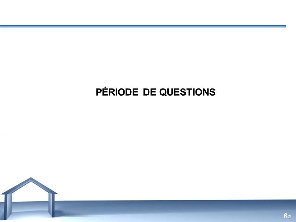 PÉRIODE DE QUESTIONS 82