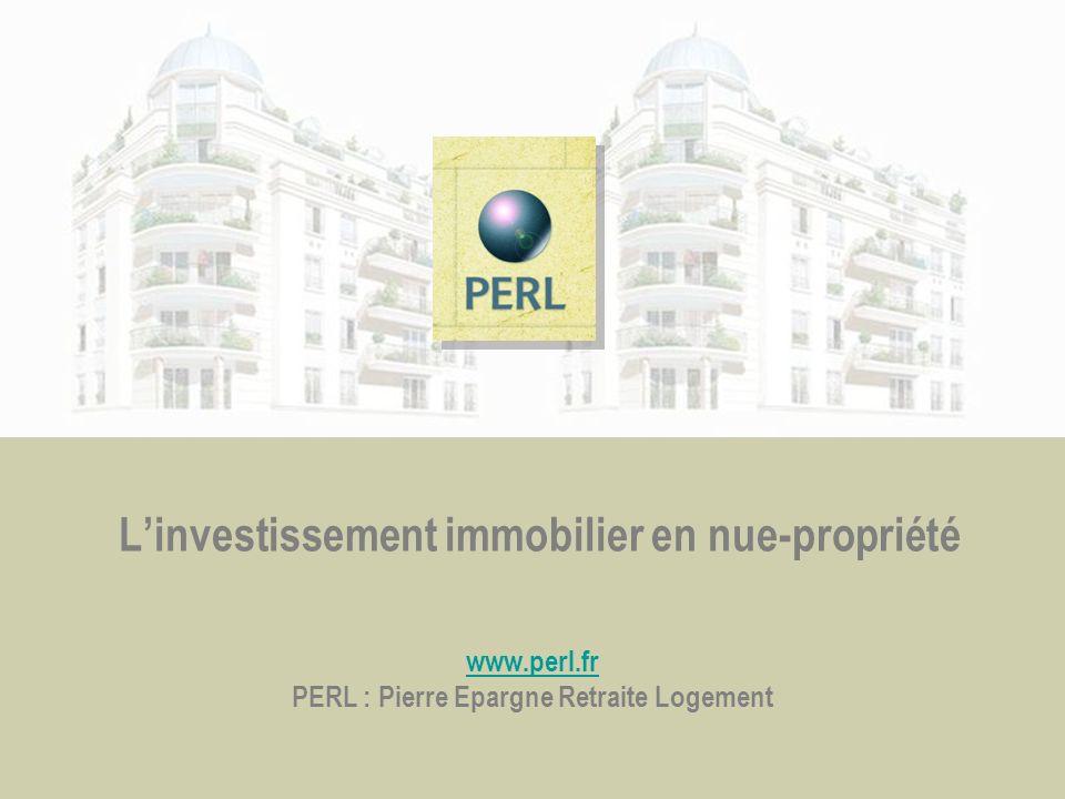 L'investissement immobilier en nue-propriété www. perl