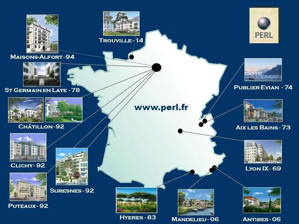 www.perl.fr Trouville - 14 Maisons-Alfort - 94 Publier Evian - 74