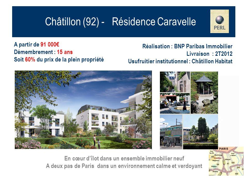 Châtillon (92) - Résidence Caravelle