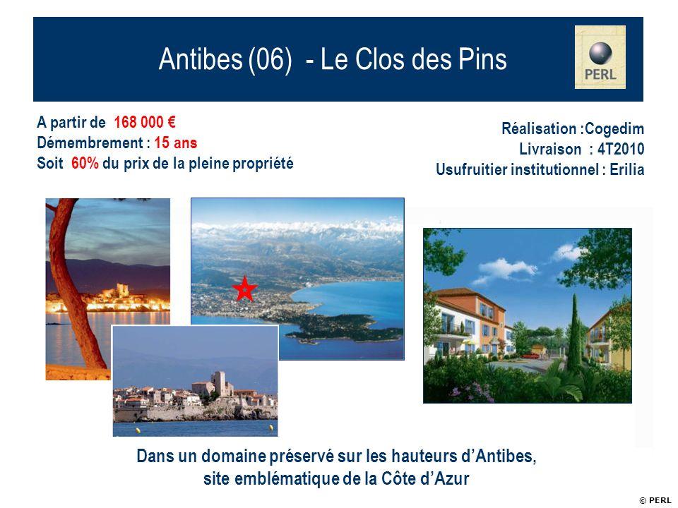 Antibes (06) - Le Clos des Pins