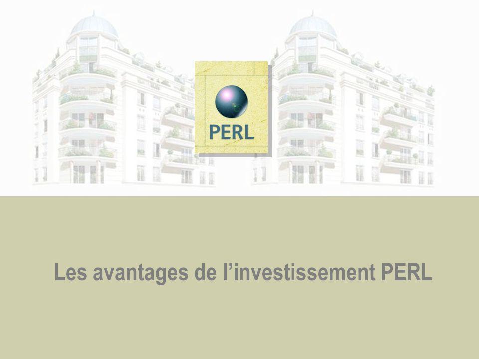 Les avantages de l'investissement PERL