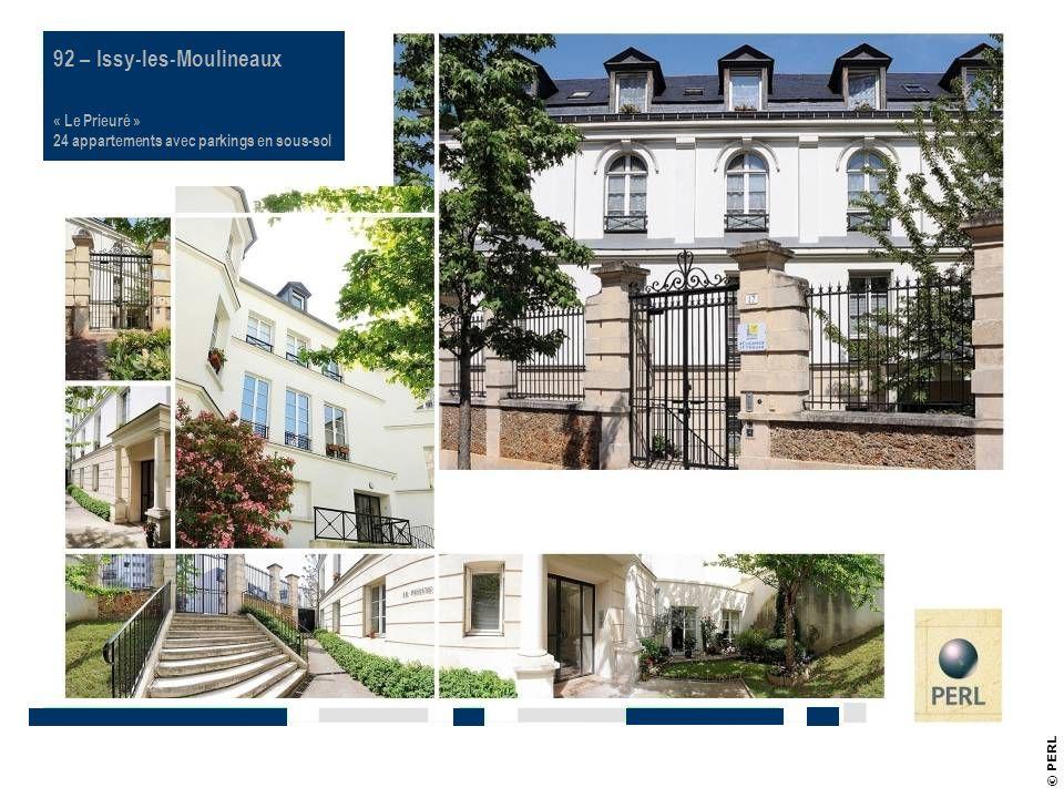 Référence PERL 92 – Issy-les-Moulineaux « Le Prieuré »
