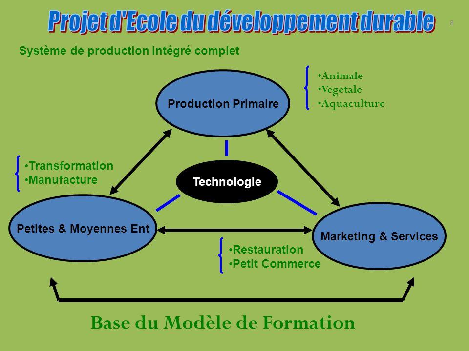 Base du Modèle de Formation