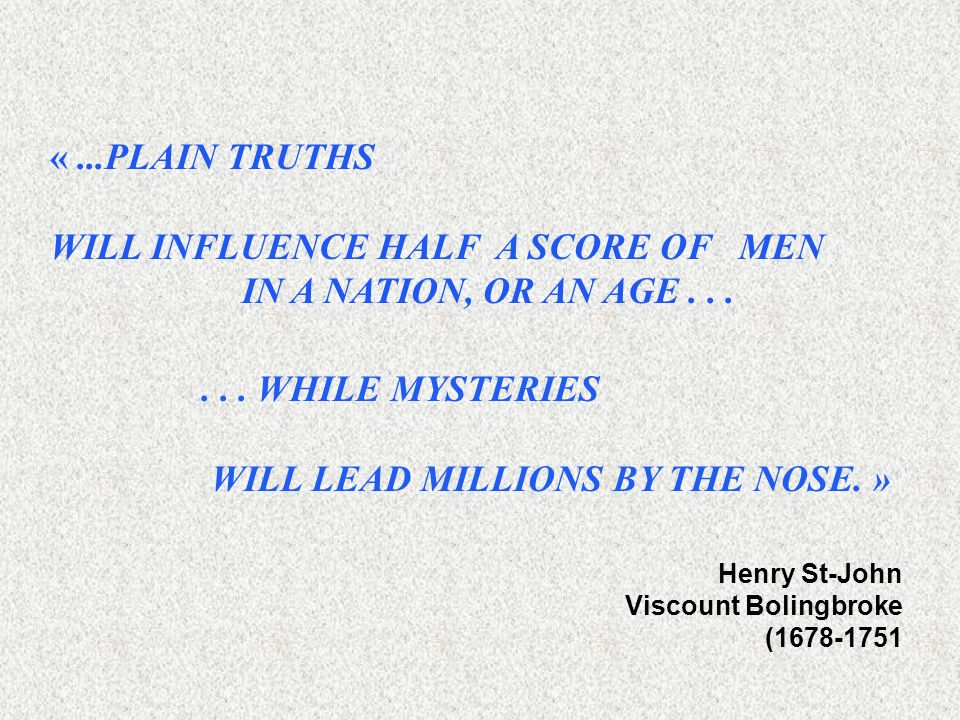 WILL INFLUENCE HALF A SCORE OF MEN IN A NATION, OR AN AGE . . .